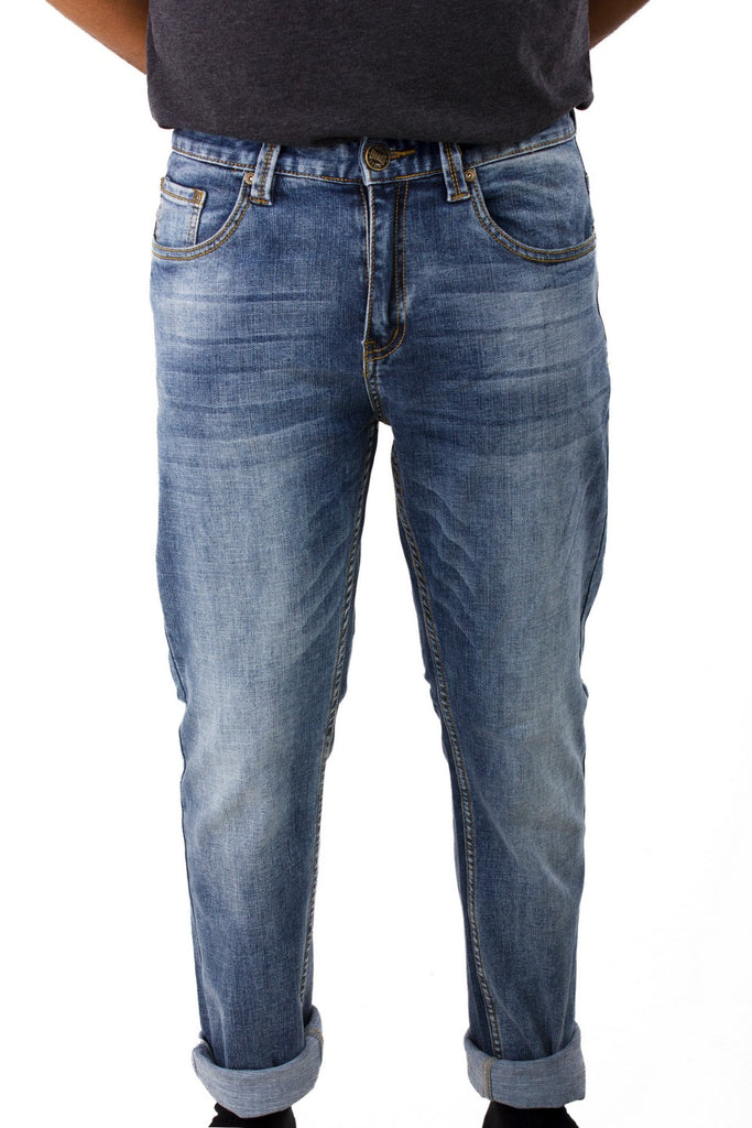 Stretchable Denim Slim Fit Long Pants 769 - Exhaust Garment