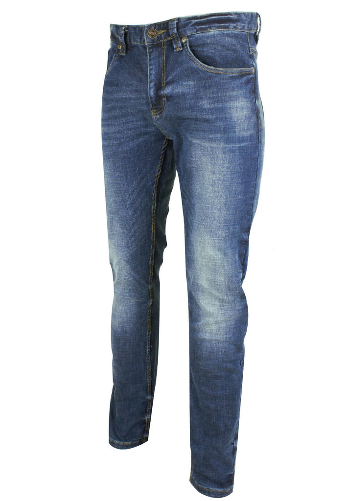 Exhaust Stretchable Denim Long Pants Slim Fit 775 - Exhaust Garment
