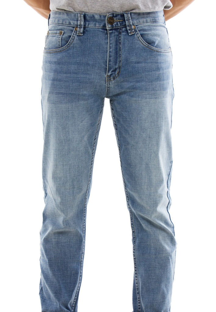 Stretchable Slim Fit Denim Long Pants 778 - Exhaust Garment