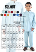 Exhaust Baju Melayu Modern Fashion Kids 2915#13 - Exhaust Garment