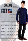 Exhaust Baju Kurta Modern Fashion 89637#6 - Exhaust Garment
