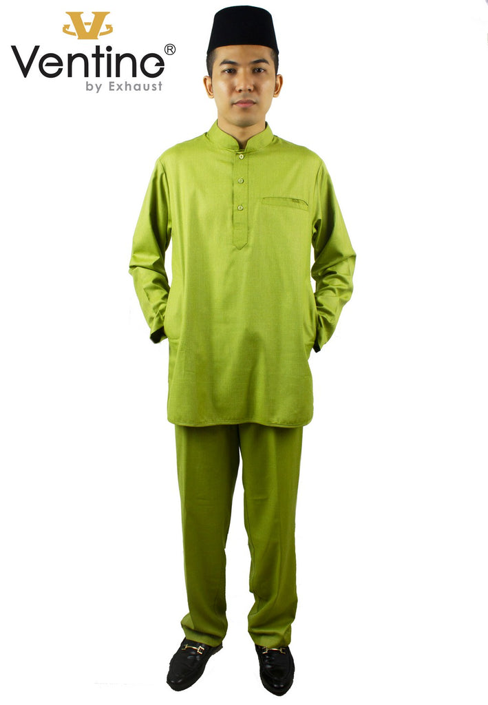 Ventine Baju Melayu Modern V4500-BMMFC(S) With Collar - Color 1 - 4 - Exhaust Garment