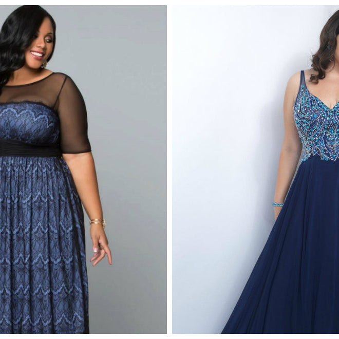 Trendy Plus Size Cheap Prom Dresses For Curvy Girls - Bridelily