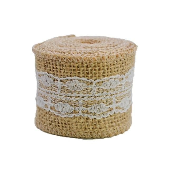 2M 5cm Natural Jute Burlap Wedding Decorations | Bridelily - 9 - wedding decorations