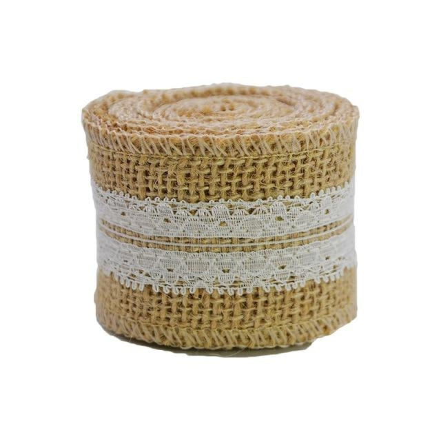 2M 5cm Natural Jute Burlap Wedding Decorations | Bridelily - 24 - wedding decorations