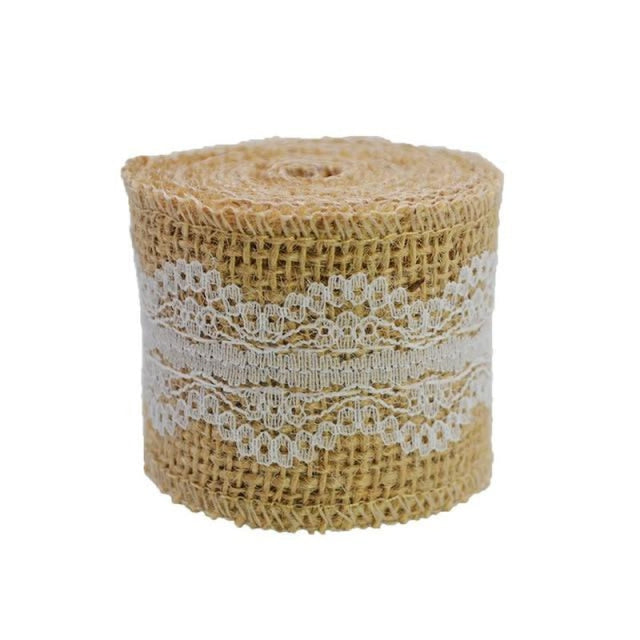 2M 5cm Natural Jute Burlap Wedding Decorations | Bridelily - 8 - wedding decorations