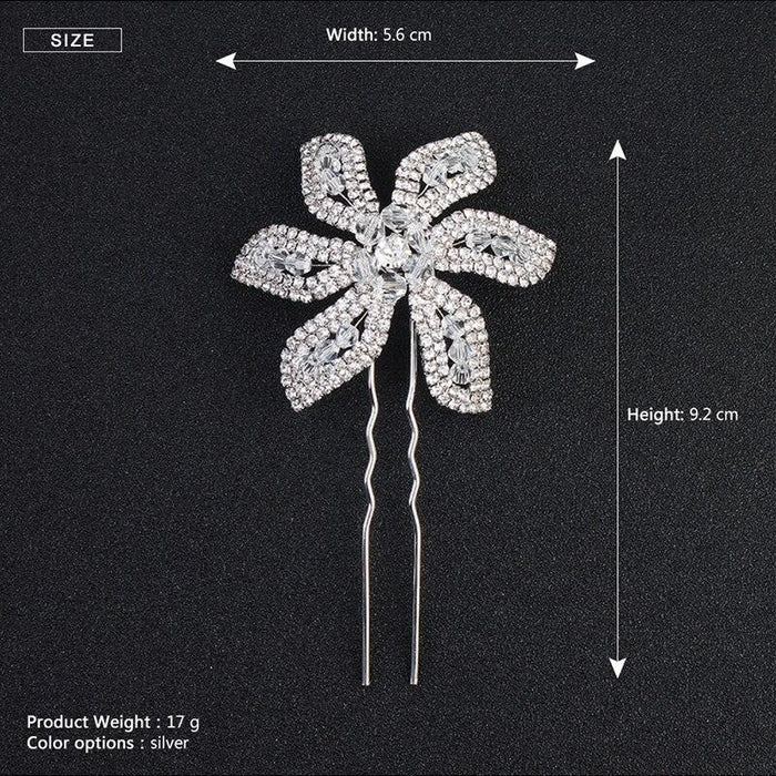 3pcs/lot Fashion Handmade Jewelry Hairpins | Bridelily - hairpins