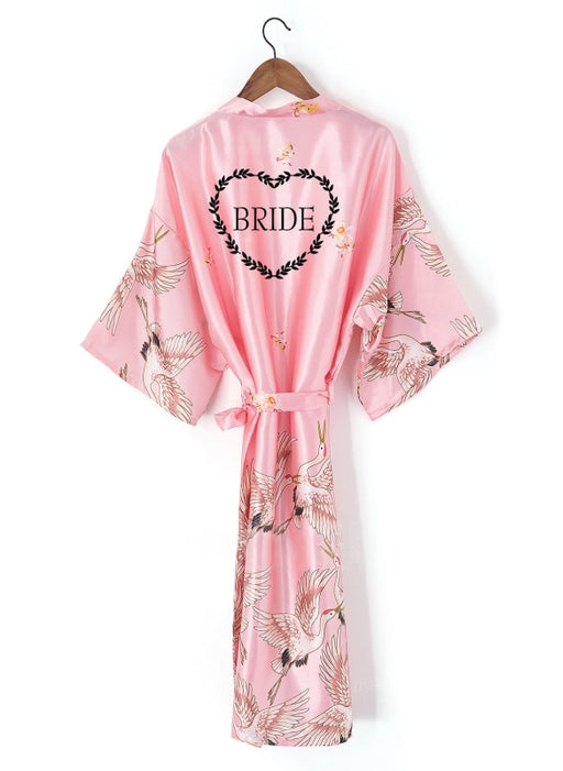 A| Personalized Bridesmaid & Bridal Robes Wedding Gifts - robes