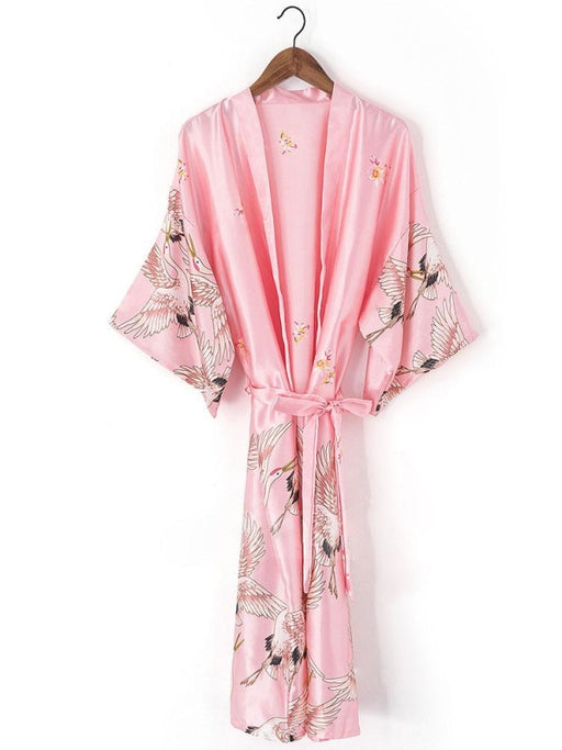 A| Personalized Glitter Print Robes Bride Bridesmaid Robes - robes