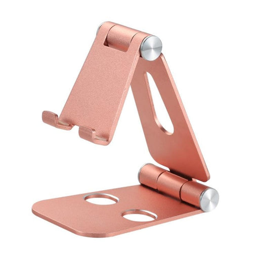 Foldable Swivel Phone Stand - Rose