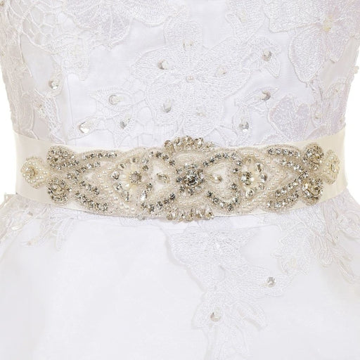 Beautiful Sparkly Rhinestone Wedding Sashes | Bridelily - wedding sashes