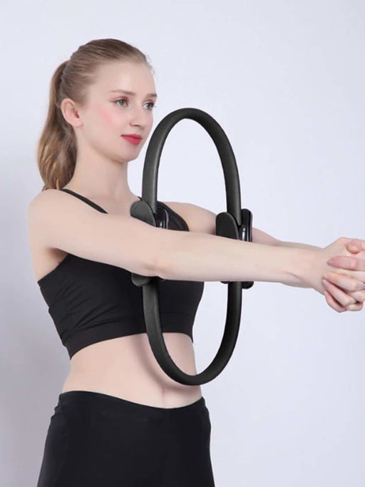 Black Yoga Circle Workout - As Picture / One Size - sports equipments