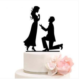 Bride Groom Mr Mrs Wedding Cake Toppers | Bridelily - cake toppers