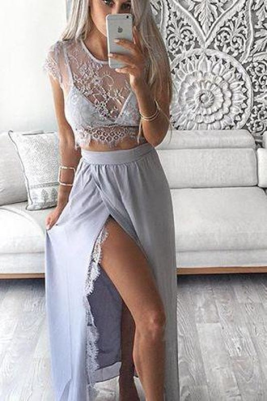 Junior Sexy Sequined Sheer Floor Length 2019 Long Sleeves Prom Dress/Party Dress