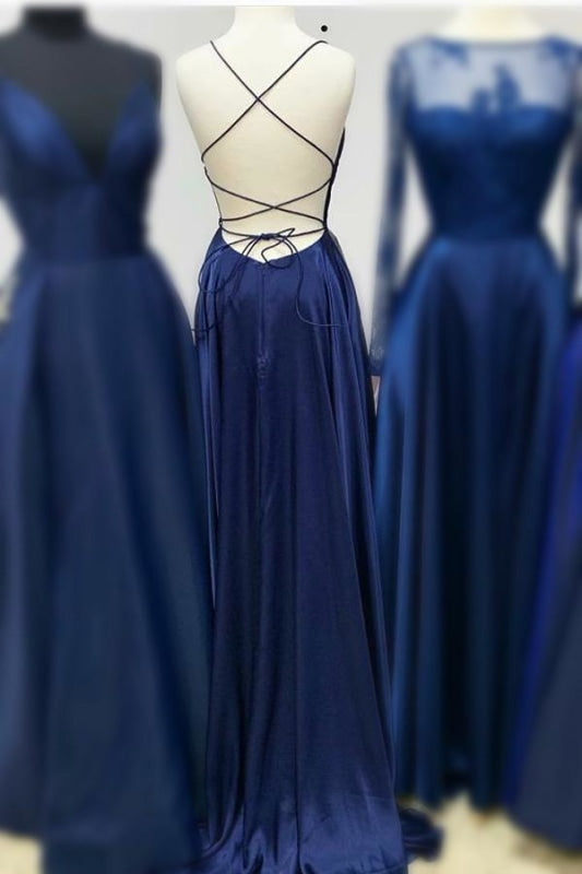 Plus Size Floor Length Mermaid Vintage Backless Ball Gown Evening Dress/Prom Dress