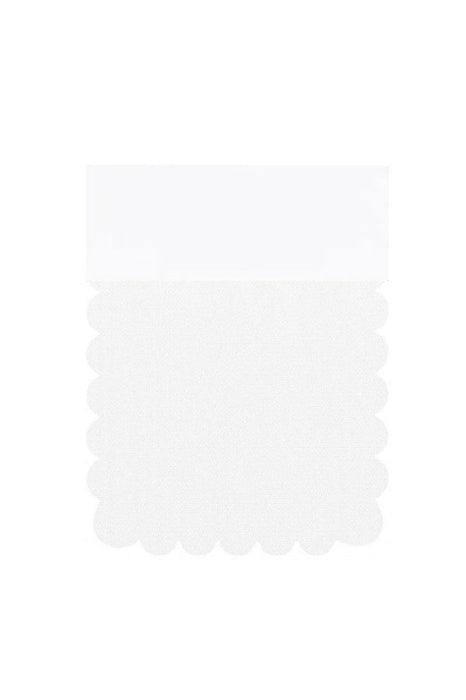 Bridelily Bridal Tulle Color Swatches - White - Color Swatches