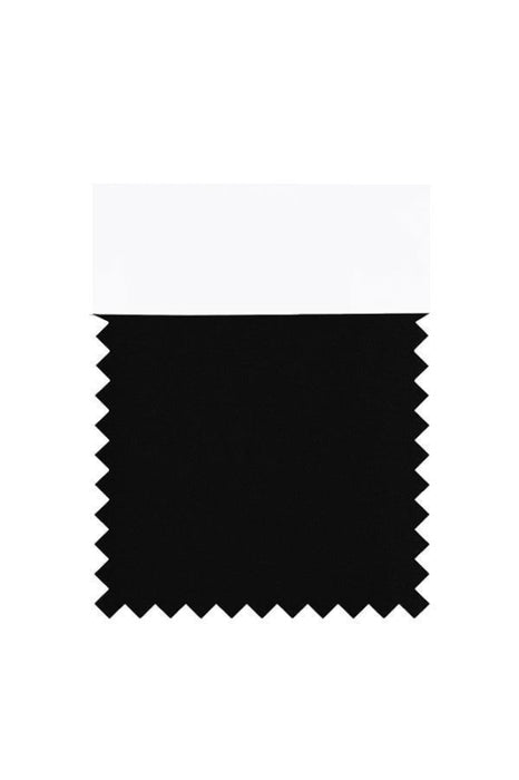 Bridelily Chiffon Swatch with 34 Colors - Black - Swatches