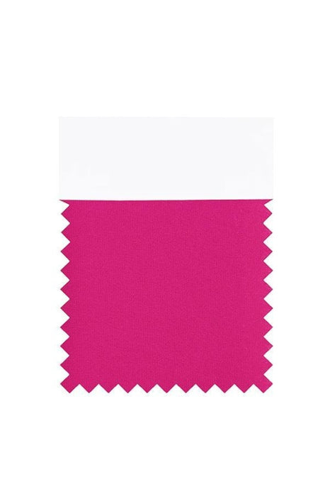 Bridelily Chiffon Swatch with 34 Colors - Fuchsia - Swatches