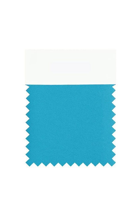 Bridelily Chiffon Swatch with 34 Colors - Ocean Blue - Swatches