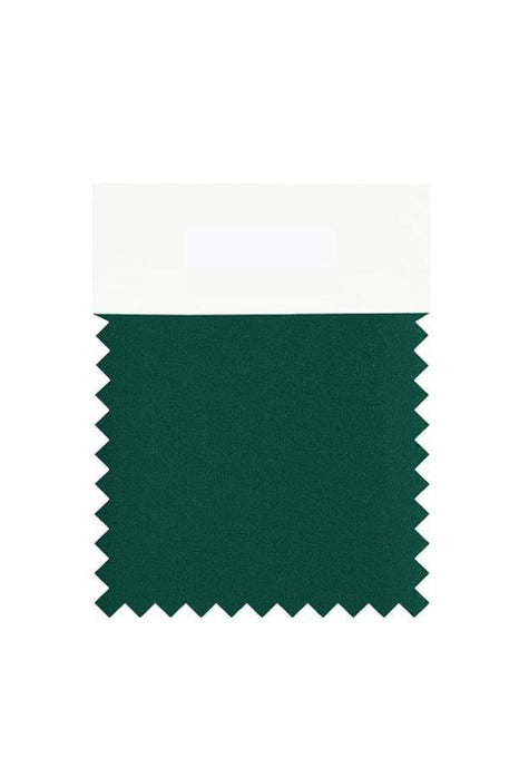 Bridelily Chiffon Swatch with 34 Colors - Dark Green - Swatches