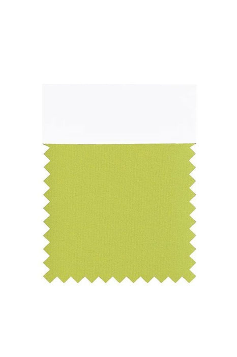 Bridelily Chiffon Swatch with 34 Colors - Green - Swatches