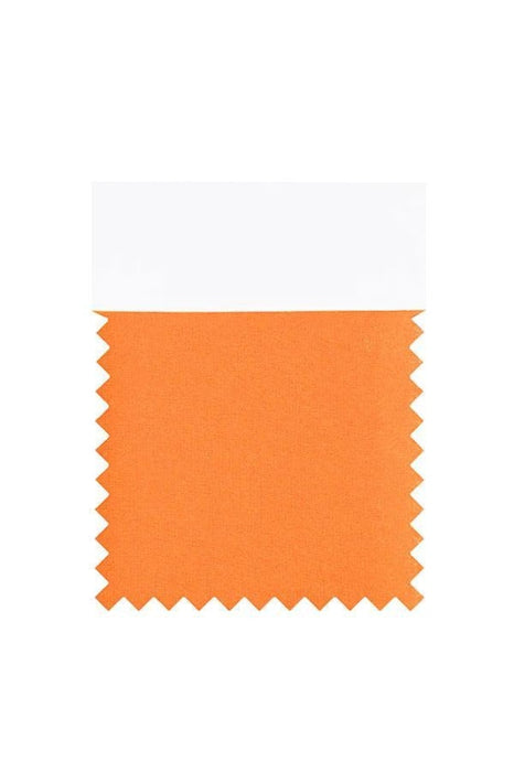 Bridelily Chiffon Swatch with 34 Colors - Orange - Swatches