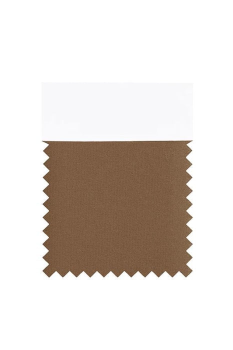 Bridelily Chiffon Swatch with 34 Colors - Brown - Swatches