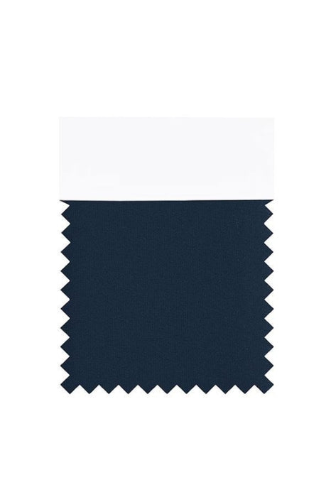 Bridelily Chiffon Swatch with 34 Colors - Dark Navy - Swatches