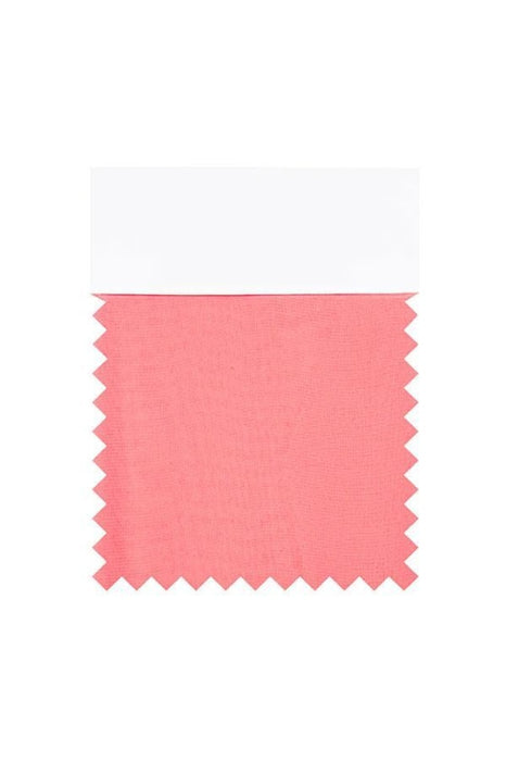 Bridelily Chiffon Swatch with 34 Colors - Watermelon - Swatches