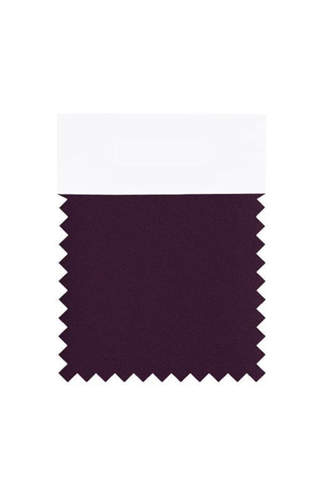 Bridelily Chiffon Swatch with 34 Colors - Grape - Swatches