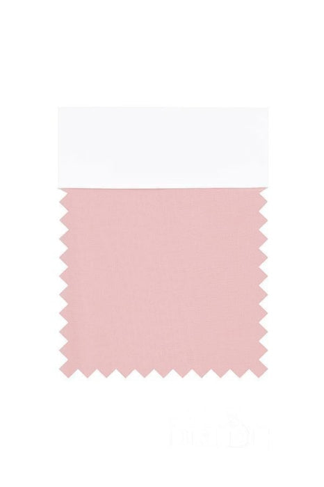 Bridelily Chiffon Swatch with 34 Colors - Dusty Rose - Swatches