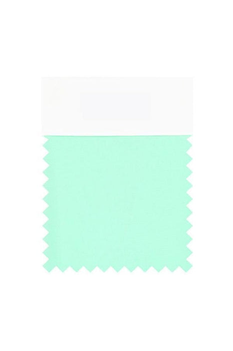 Bridelily Chiffon Swatch with 34 Colors - Mint Green - Swatches
