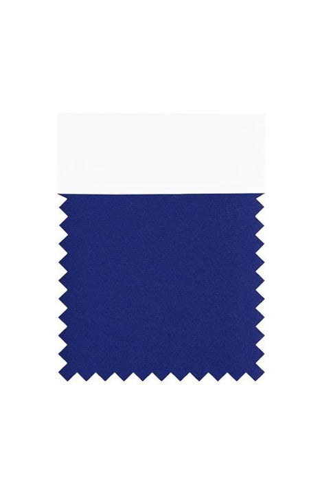 Bridelily Chiffon Swatch with 34 Colors - Royal Blue - Swatches
