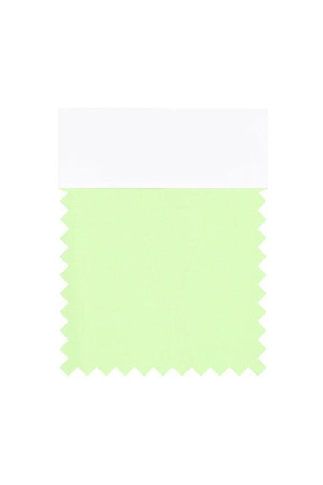 Bridelily Chiffon Swatch with 34 Colors - Sage - Swatches