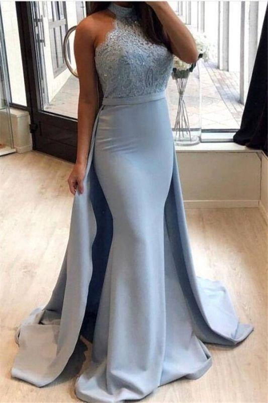 Sexy Strapless Long Sleeves Sleeveless Glittering Lace Sheath Mermaid Ball Gown Sheath Dress/Prom Dress