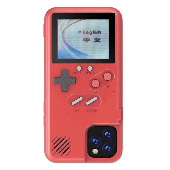 Gameboy Soft Phone Case Cover For iPhone 36 Classic Game Console Silicone Cover - IPhone XR / Red