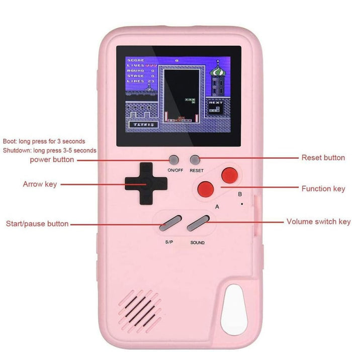 Gameboy Soft Phone Case Cover For iPhone 36 Classic Game Console Silicone Cover
