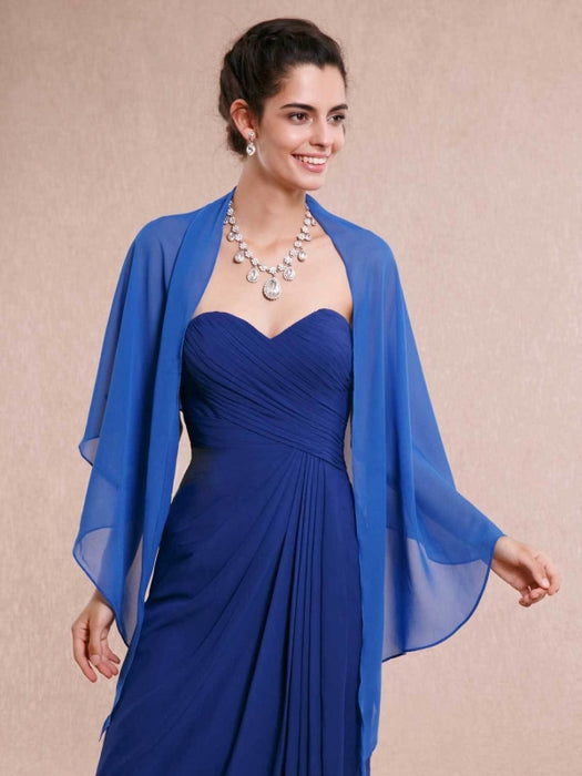 Chiffon Wedding Evening Womens Wrap | Bridelily - wedding wraps