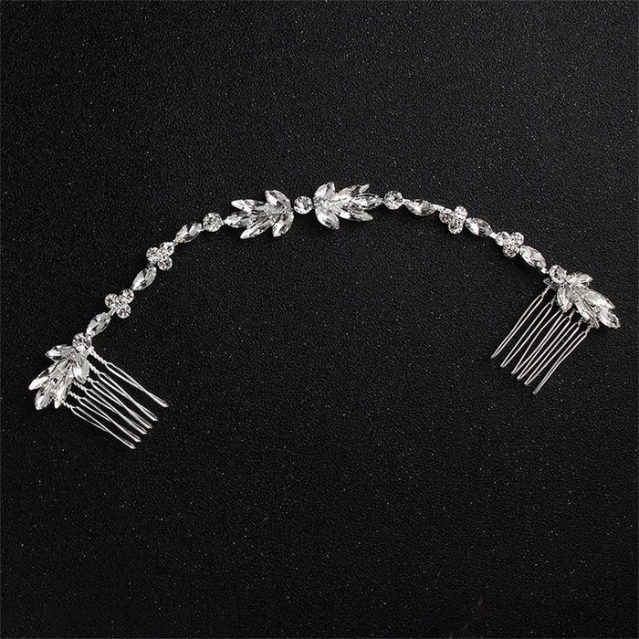 Classic Crystal Bendable Womens Hairpins | Bridelily - hairpins