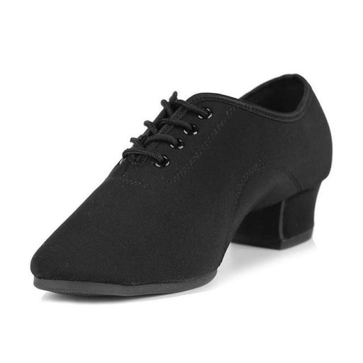 Comfortable Heeled Sneaker Jazz Dance Shoes | Bridelily - 701 Black 2 / 11.5 - jazz dance shoes