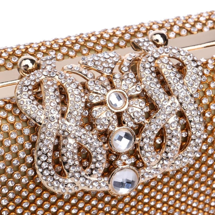 Crown Diamonds Purse Rhinestones Wedding Handbags | Bridelily - wedding handbags