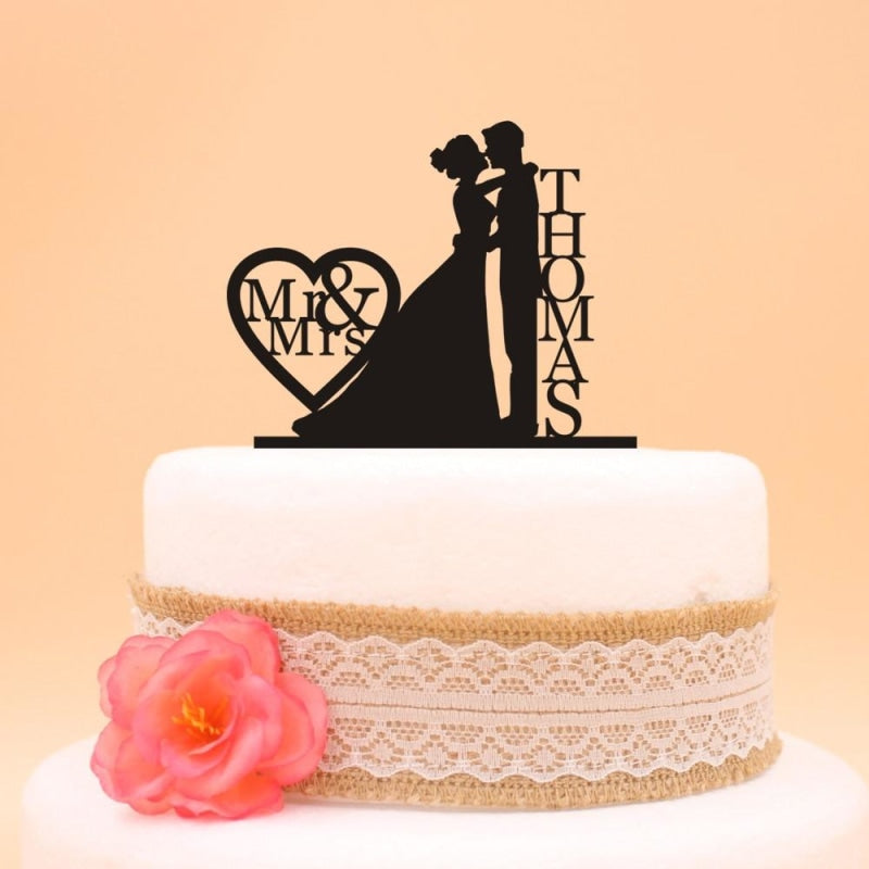 Custom Bride Holding And Grooms Cake Toppers | Bridelily - cake toppers