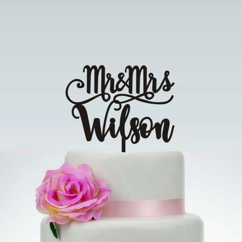 Customized Wedding Personalized Cake Toppers | Bridelily - cake toppers