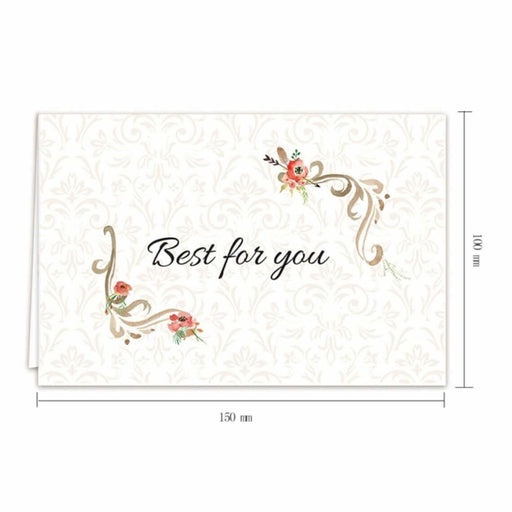 Cute Coloful Side Fold Thank you Cards(50PCS) | Bridelily - 2 - thnak you cards
