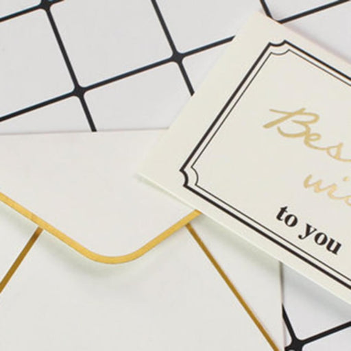Cute Simple Side Fold Thank you Cards(50PCS) | Bridelily - 2 - thnak you cards