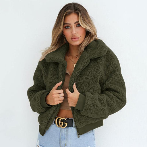 Daily Basic Winter Plus Size Regular Faux Fur Coats - womens furs & leathers
