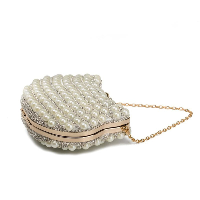 Design Pearl Cat Head Beaded Wedding Handbags | Bridelily - wedding handbags