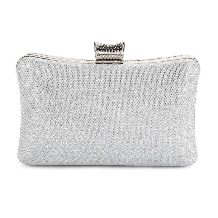 Elegant Diamond Silver Glass Wedding Handbags | Bridelily - wedding handbags