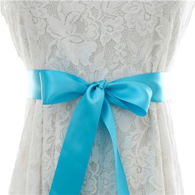 Elegant Pearls Women Belts Wedding Sashes | Bridelily - blue / One Size - wedding sashes