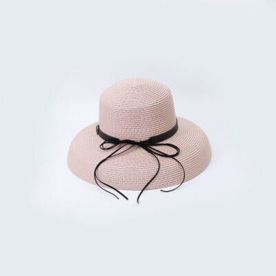 Elegant Straw Bowknot Wide Brim Bowler/Cloche Hats | Bridelily - bowler/cloche hats